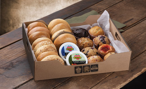 Image result for big apple bagel breakfast box
