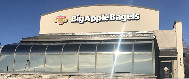 Big Apple Bagels® Opens in Cheyenne, Wyoming
