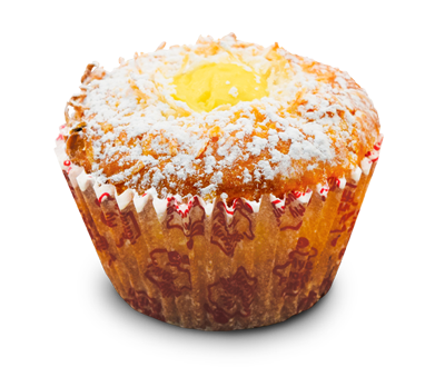 Muffin of the Month - Coconut Cream